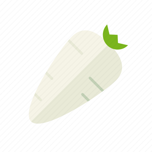food, freshness, groceries, healthy eating, horseradish, vegetable icon