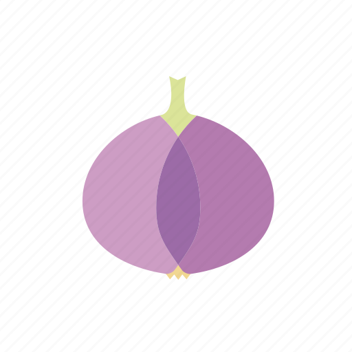 food, onion, pink, purple, vegetable icon