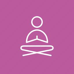 color yoga, coloured, coloured yoga meditation, colourful yoga, meditation, yoga, yoga meditation icon