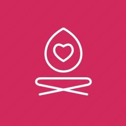 coloured, healing, love yourself, self, self healing, self improvement, yoga, yoga love icon