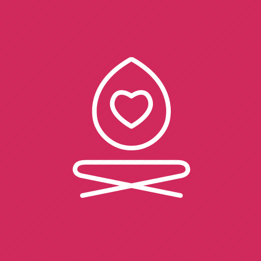 Coloured, healing, love yourself, self, self healing, self improvement, yoga love icon - Download on Iconfinder