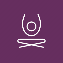 coloured, meditation, self improvement, yoga, yoga position, yoga stretch icon