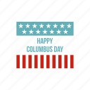 america, columbus, day, flag, ocean, ship, vessel icon