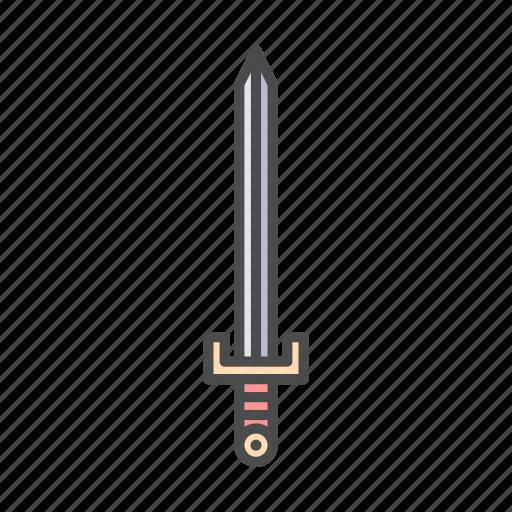 battle, combat, fight, kill, knight, sword, weapon icon