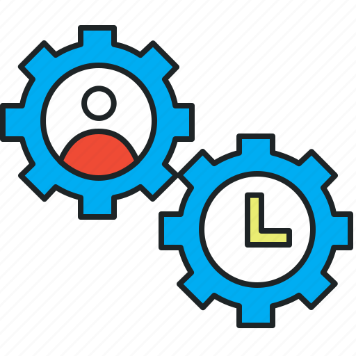 effectiveness, efficiency, perform, performance, productivity, time spend, track activity icon