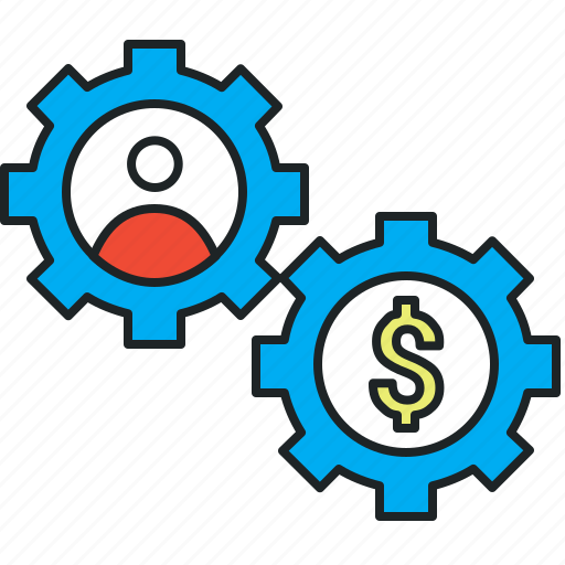 earn money, optimization, optimize, rate, referral, resources, spend icon