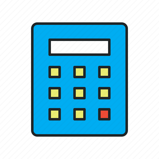 accounting, budget, calculate, calculator, costs, estimate, estimation, expenses, finanace, math, payroll icon