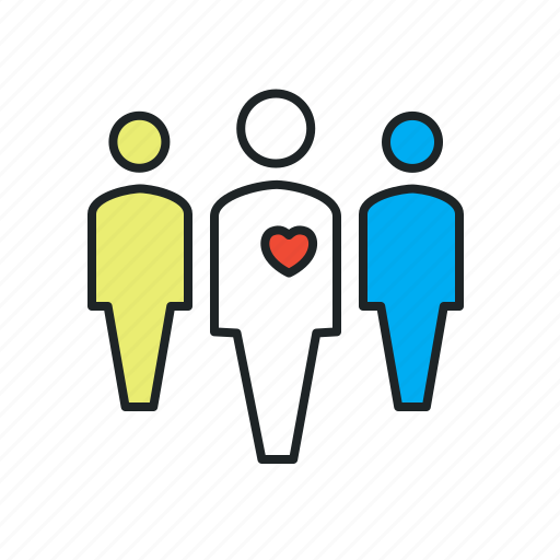 charity, customers, donor, follower, followers, loyalty, membership, mission, people, together, voluntary, volunteer, volunteers icon