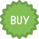 badge, buy, buy product, shop badge, shopping icon