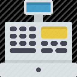 cash, cash machine, cash payment, payment, shop assistant, shop owner, shopping icon