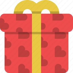 gift, gift wrap, package, present, surprise, valentines, wrap icon