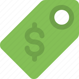 currency, dollar, label, price, price tag, sale, tag icon