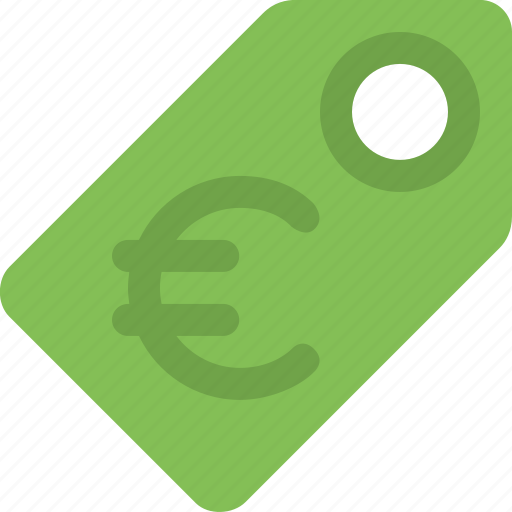 currency, euro, label, price, price tag, sale, tag icon