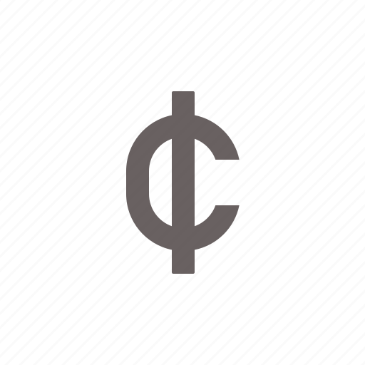 cent, currency icon