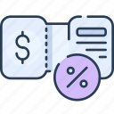 commerce, coupon, discount, price, shop, shopping icon