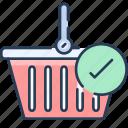 basket, commerce, shop, shopping, store icon