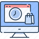 business, commerce, ecommerce, online, shop, shopping icon