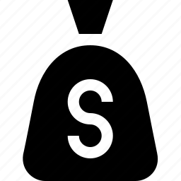 bag, cash, currency, dollars, money icon