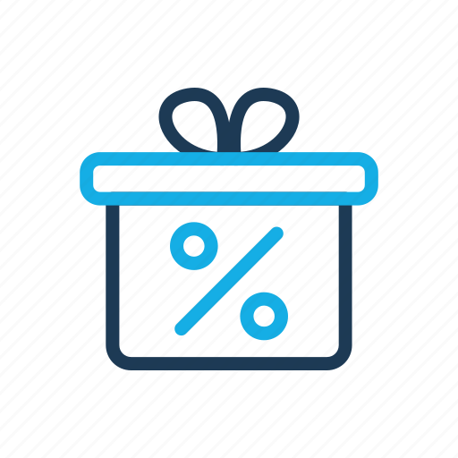 business, comerce, delivery, gift, shop icon