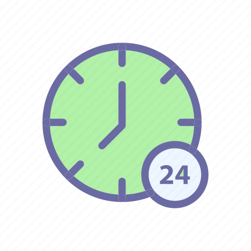 business, clock, comerce, delivery, shop icon