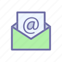 business, comerce, delivery, mail, shop icon