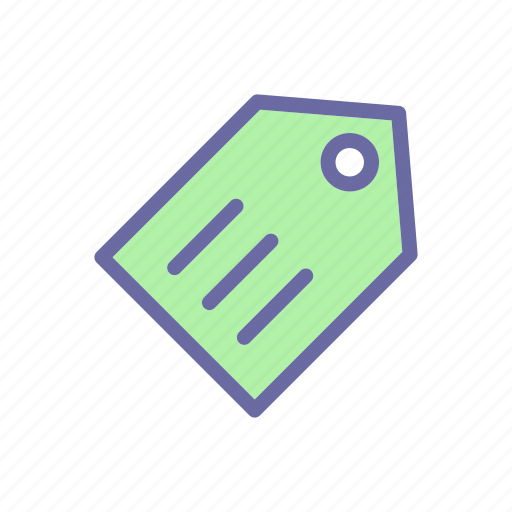 business, comerce, delivery, shop, tag icon