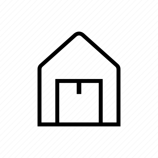 commerce, delivery, package, storage icon