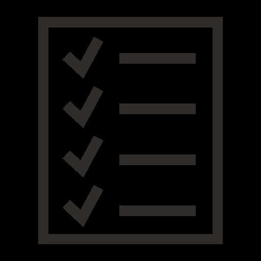 bullet, checklist, cv, list, resume, text, to-do icon