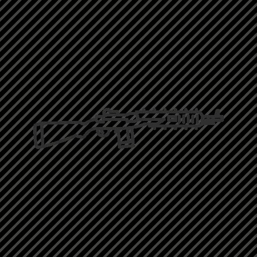 firearms, gun, guns, military, sniper, sniper rifle, weapons icon