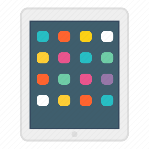 app, apple, device, ipad, responsive, tablet, technology icon