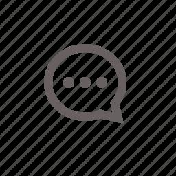 active, bubble, chat, communication, conversation, message, messenger, talk icon