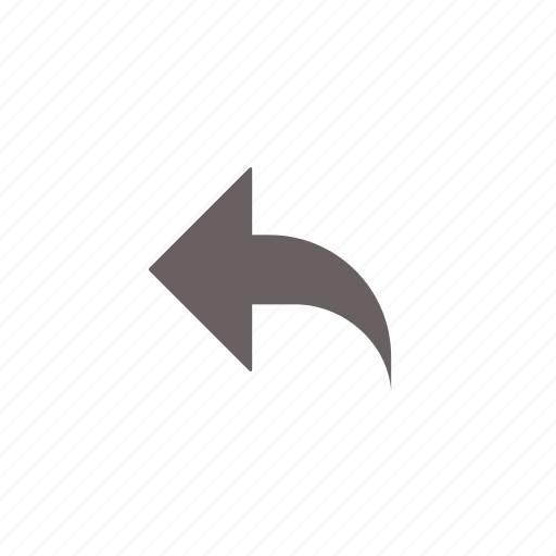 arrow, email, mail, message, reply icon