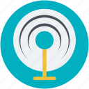 radar, radar sweep, signal tower, tower, wireless communication icon