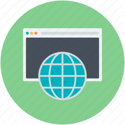 earth grid, globe, internet connection, internet grid, web page icon