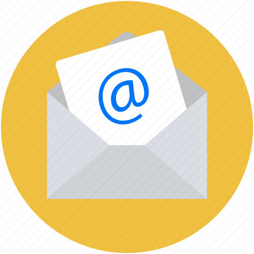 email, envelope, inbox, letter, sent email icon