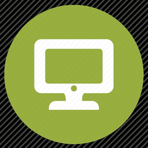 communication, computer, desktop, monitor, screen icon