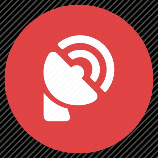 Communication, radio antenna, signal, receiver icon