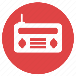 audio, communication, music, radio icon