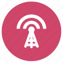communication, broadcast, radio tower, tower, antenna