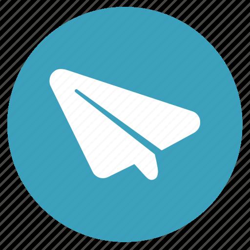 communication, origami, paper plane, plane, send, sent icon