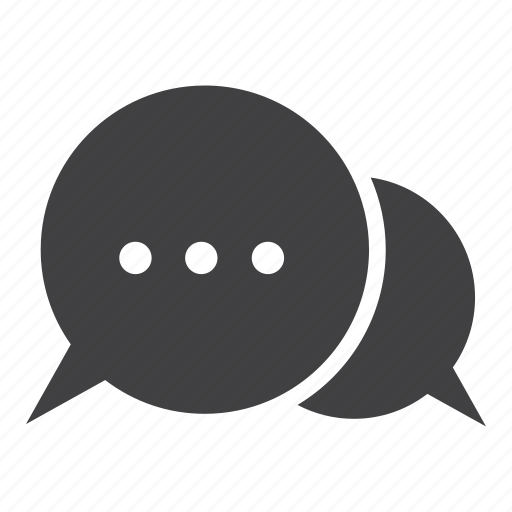 balloon, bubble, chat, chatting, message icon