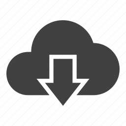 cloud, data, dowload, storage icon