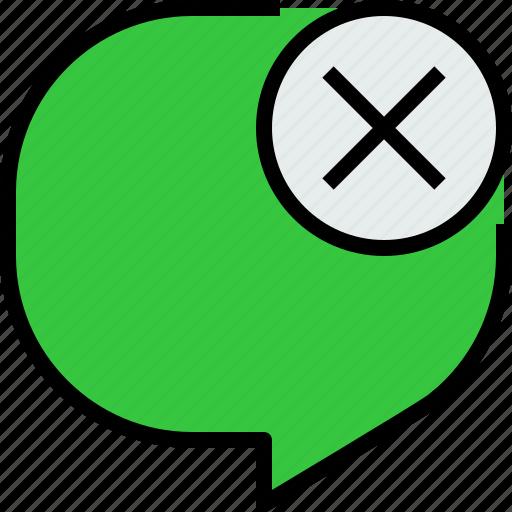 bubble, communication, speech, talk icon