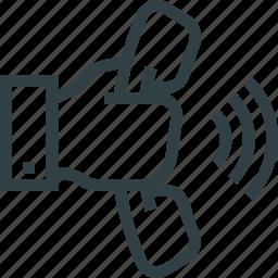call, communication, help icon