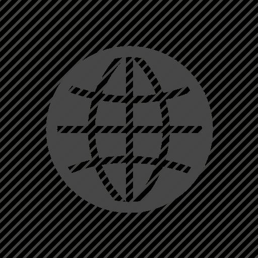 communication, globe, internet icon
