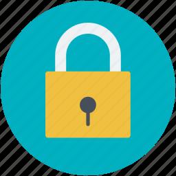 lock, locked, padlock, privacy, safety icon