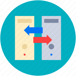 data exchanging, data sharing, mobile phone, sharing, wireless sharing icon