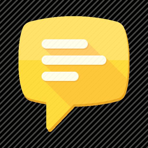 chat bubble, comments, communication, conversation, interlocution, message, sms icon