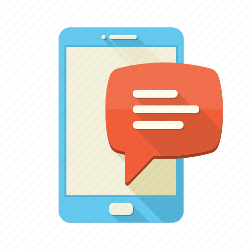 bubble, chat, communication, conversation, message, phone, sms icon