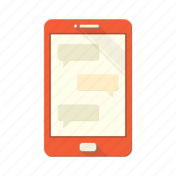chat, communication, conversation, dialogue, message, phone, sms icon